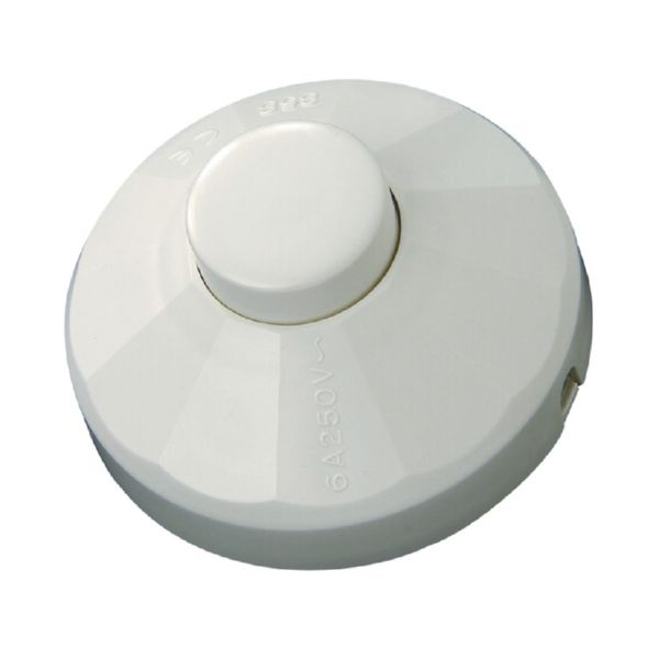 INTERRUPTOR DE PIE 10A/250V BLANCO