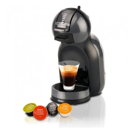 KRUPS DOLCE GUSTO Cafetera mini automatica negra/gris